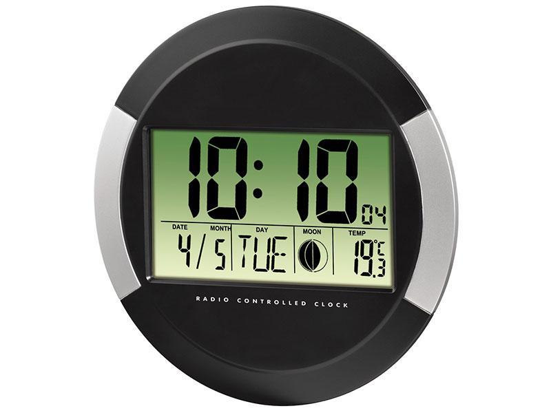 Часовник с радио PP-245 HAMA-104936, Черен