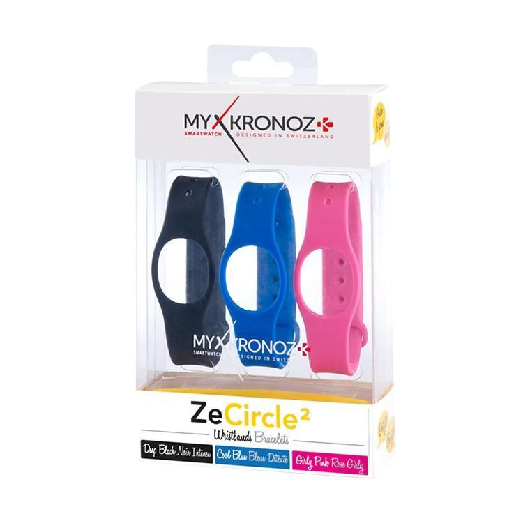 Каишка за смартчасовник MyKronoz ZeCircle2, 3 цвята
