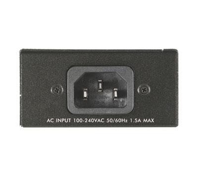 Инжектор ZyXEL POE12-HP PoE, Gigabit, 30W