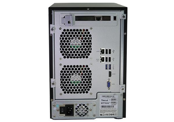 Мрежов сторидж Thecus NAS N7710G Tower до 7 диска до 28TB,Intel Pentium G850 2.9Ghz Dual Core,4GB DDR3 ECC, USB2.0,USB 3.0,HDMI,VGA,10GB NIC built in