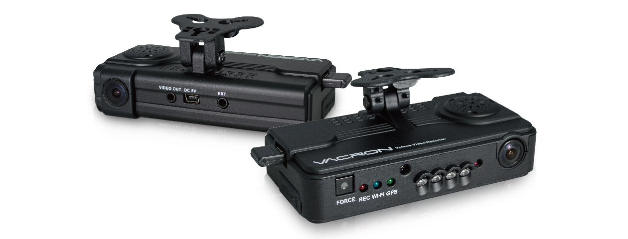 Видеорегистратор VACRON VG07, WiFi / 3G+4G, 2CH 1080P+720P, GPS, G-Sensor