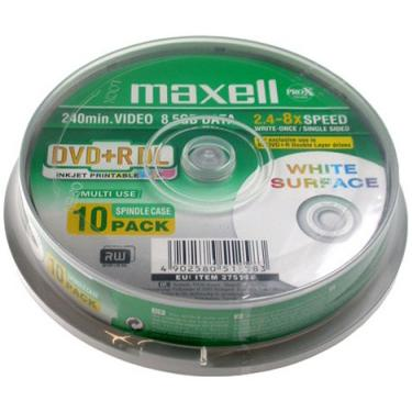 DVD+R DL MAXELL, 8.5 GB, 8x, Printable, 10 бр.