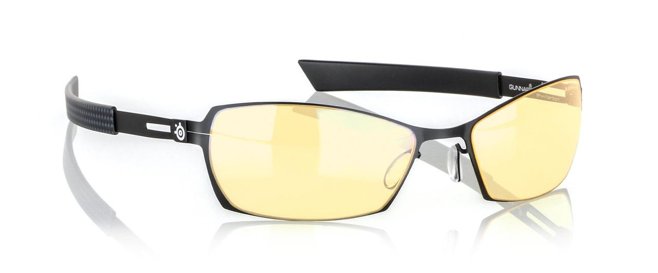 Геймърски очила GUNNAR Scope Onyx Carbon, Amber, Черен