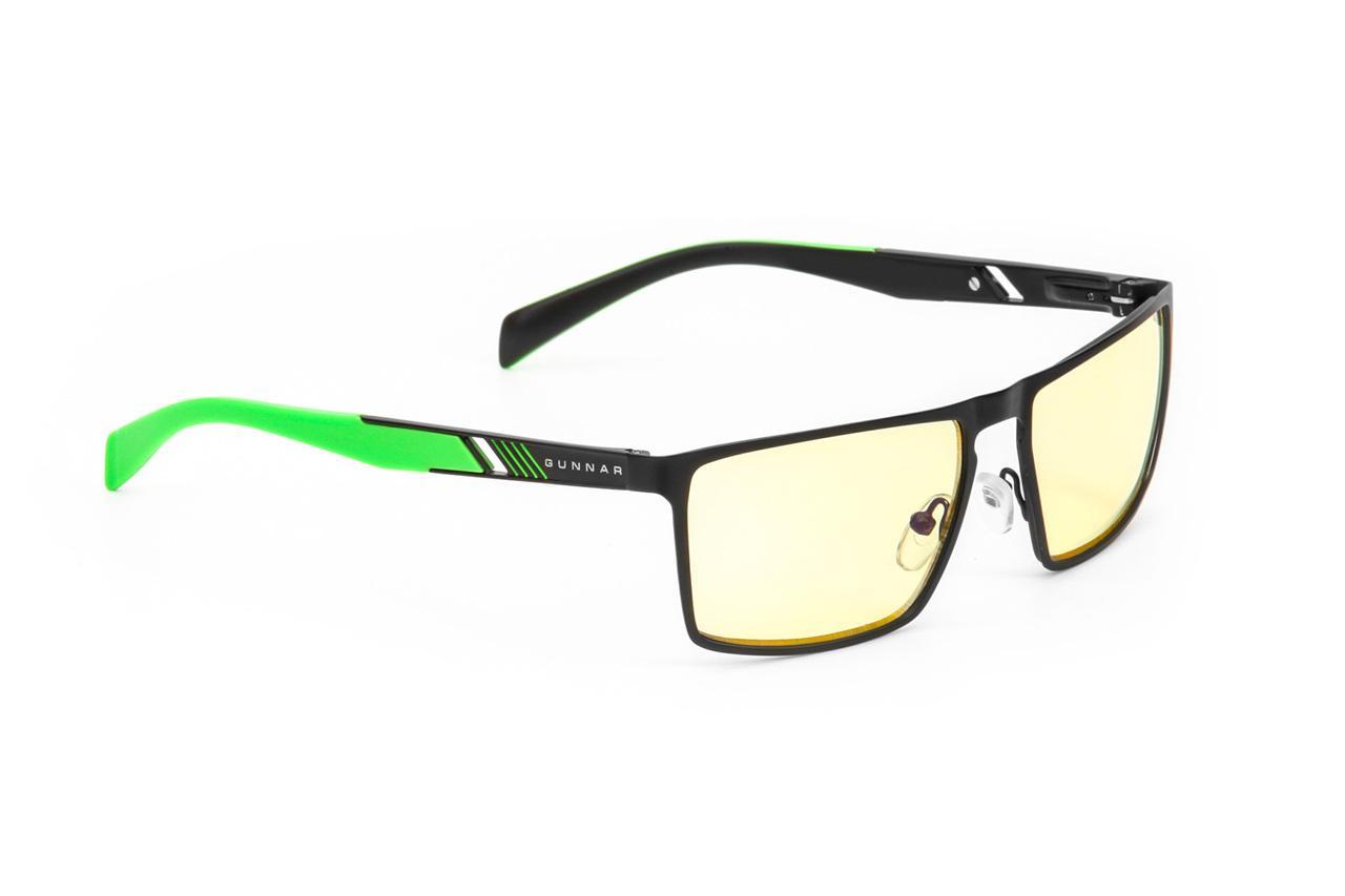 Геймърски очила GUNNAR Razer Cerberus, Amber, Зелен