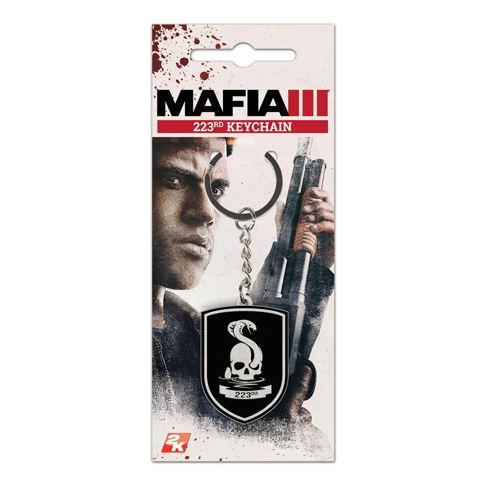 Ключодържател MAFIA III 223rd Gang Logo Metal, GAYA Entertainment