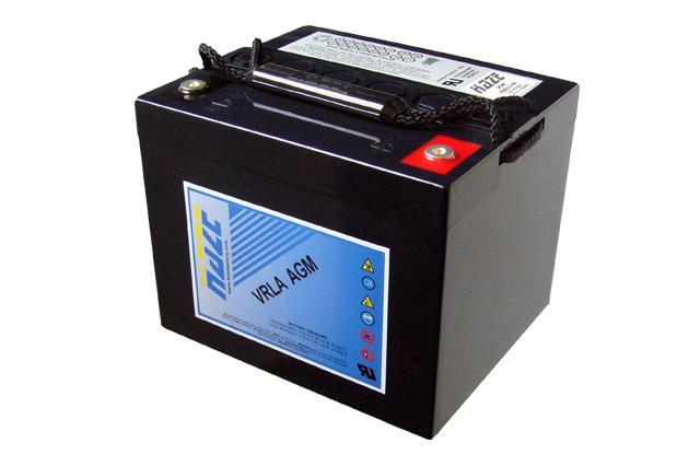 Оловна Батерия Haze (HZB12-44) Design life:12 години 12V / 44 Ah - 198 / 167 / 157 mm AGM