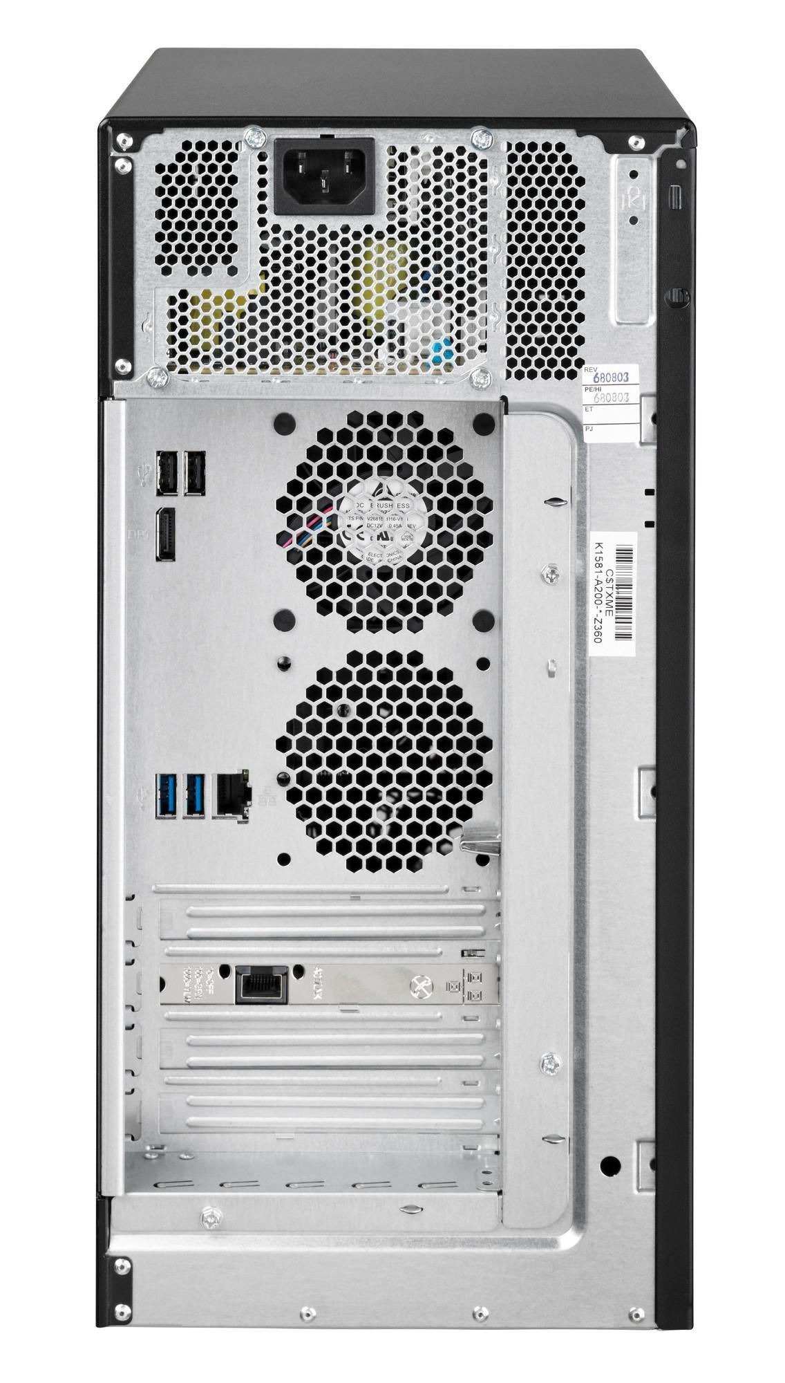 Сървър Fujitsu Primergy TX1310 M3 Xeon E3-1225v6/8Gb/2x1000GB/DVDRW / Standart PSU 250W/85%