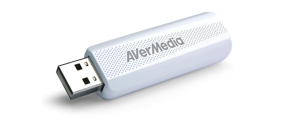 Външен тунер AVerMedia TD310, USB 2.0, MPEG-2, H.264, HEVC