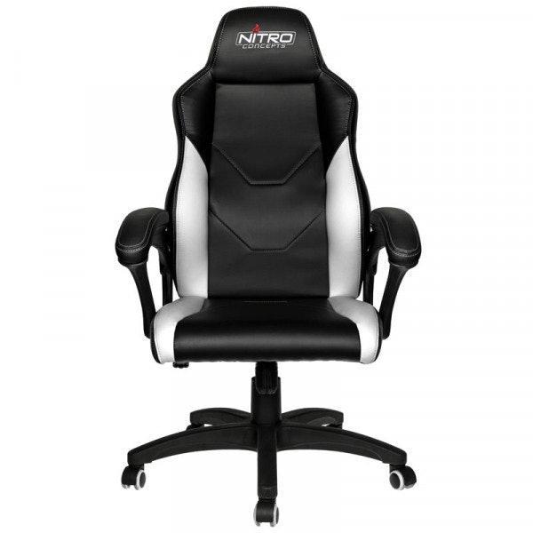 Геймърски стол Nitro Concepts C100 - Black/White