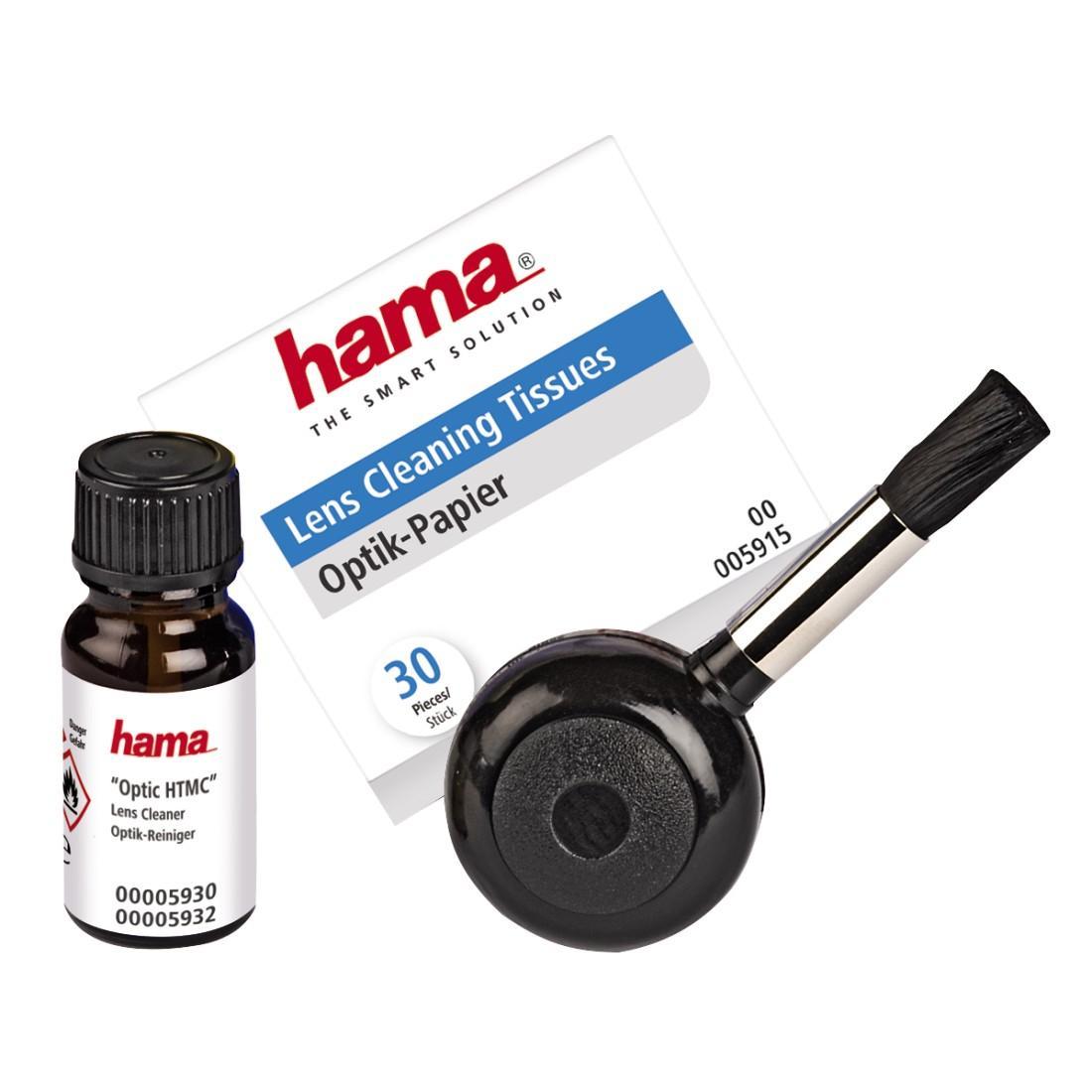 Комплект за почистване на обективи HAMA Optik HTMC 05932, 3 части