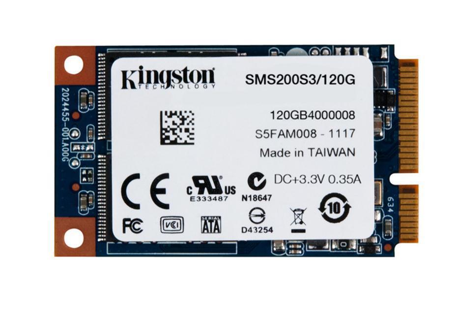 Solid State Drive (SSD) KINGSTON mS200, 120GB, mSATA
