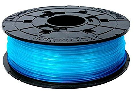 Консуматив за 3D принтер XYZprinting - PLA (NFC) filament , 1.75 mm, Clear BLUE
