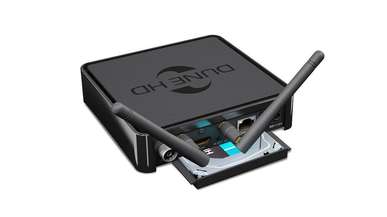 Мултимедиен плеър DUNE HD Solo 4K Base, Wi-Fi, Ethernet