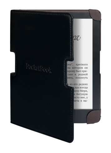 Калъф PocketBook Sense 630 за eBook четец, 6 inch, Черен/Кафяв