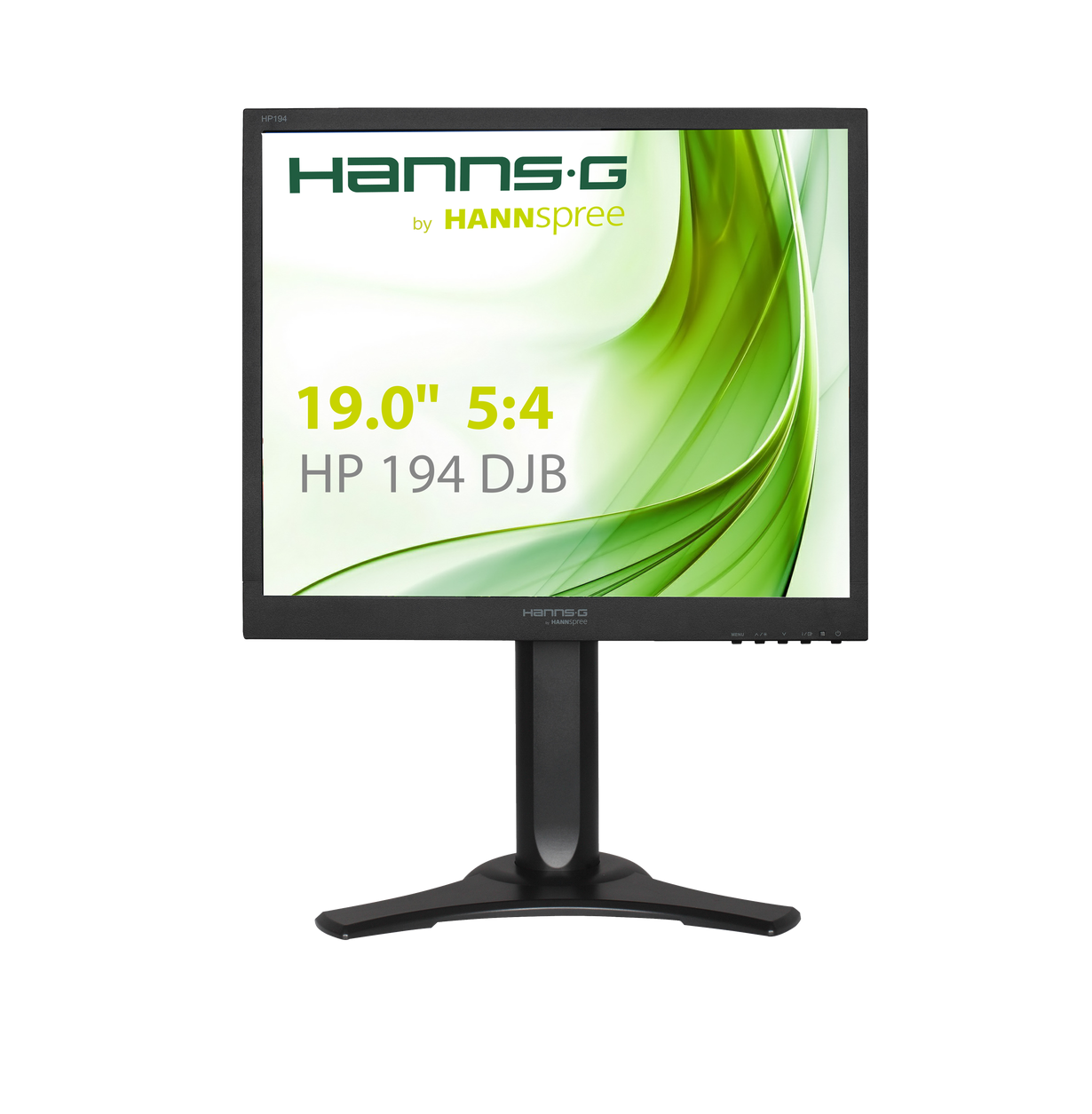 Монитор HANNSPREE HP194DJB, LED, 19 inch, Clasic, SXGA, D-Sub, DVI-D, Черен