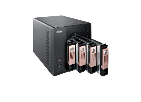 Мрежов Сторидж Fujitsu CELVIN NAS  Q805, 4 x 2 TB HDD, до 32 TB