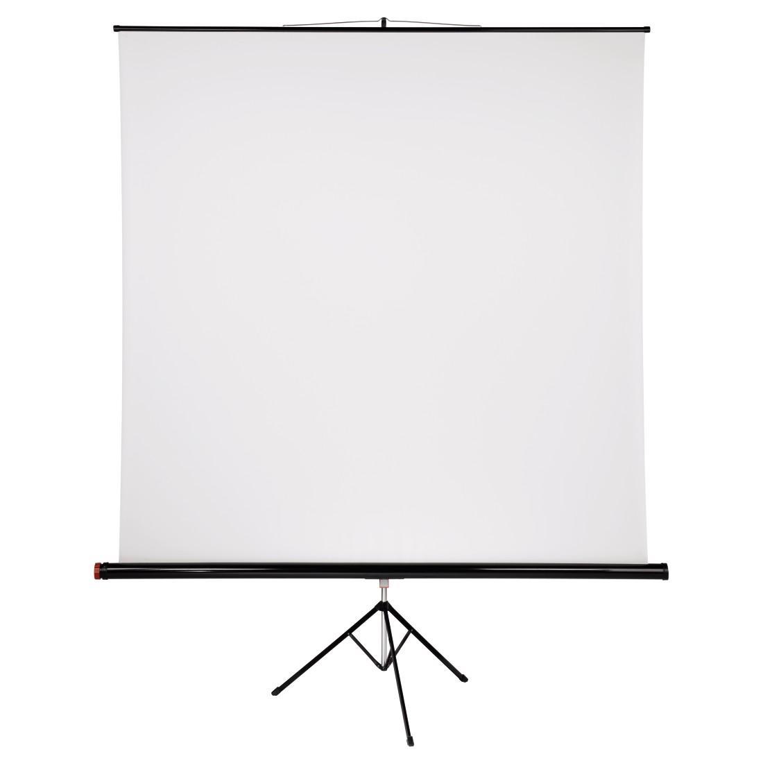 Проекторен екран със статив HAMA 17799, 200 x 200, 1:1, Бял