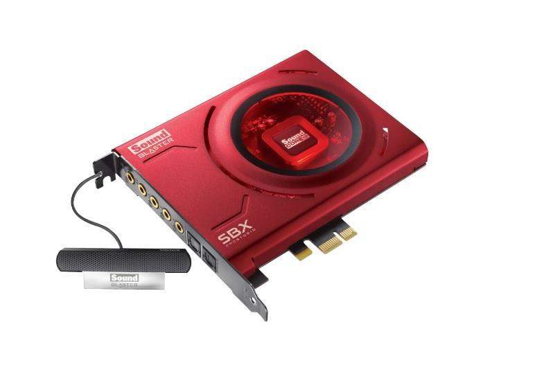Звукова карта CREATIVE SB Z, PCI-E, 5.1, Микрофон
