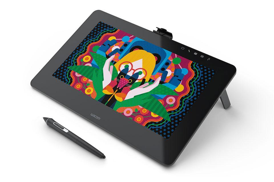 Графичен таблет Wacom Cintiq Pro 13 FHD, Черен