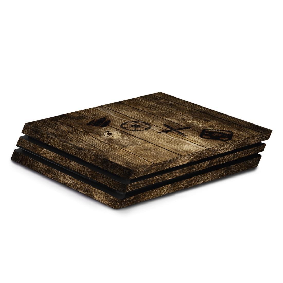 Стикери HAMA Wood, за SONY PlayStation 4 PRO