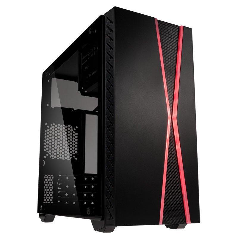Кутия Kolink Inspire K3 ARGB TG Mid-Tower, Черен