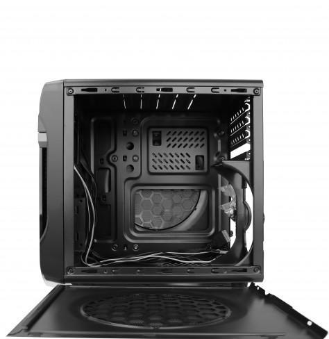 Кутия SPIRE POWERCUBE 715, 420W, MICRO ATX, Черна