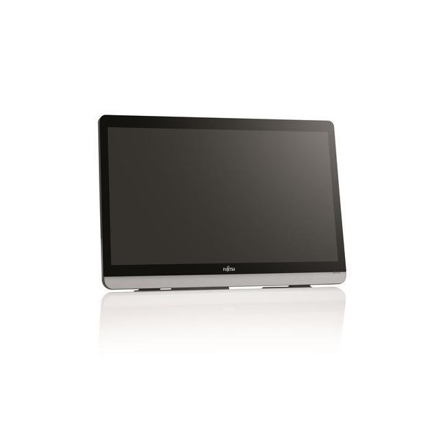 Монитор FUJITSU E22 Touch, 21.5 inch, Wide, Full HD, DVI-D, D-Sub, HDMI, Черен/сребрист