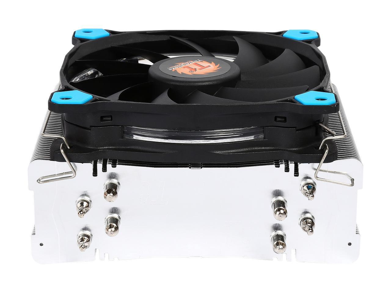 Охладител за процесор THERMALTAKE Riing Silent 12 Blue LED CL-P022-AL12B U-A AMD/Intel