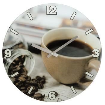 Стенен часовник Coffee