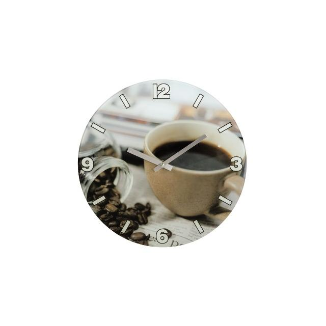 Стенен часовник HAMA Coffee