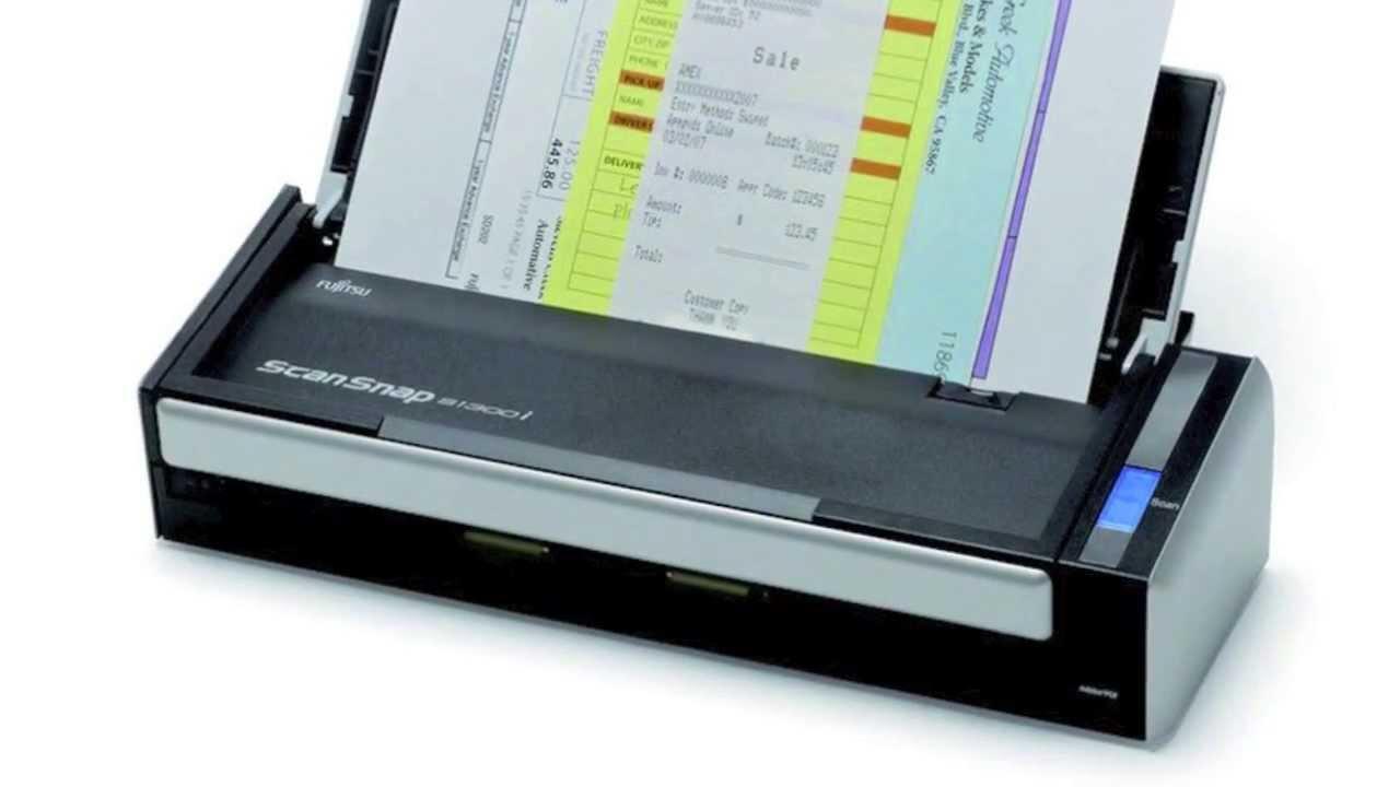 Преносим скенер Fujitsu ScanSnap S1300i, A4, USB2.0, ADF