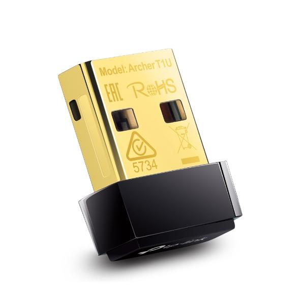 Нано адаптер TP LINK Archer T1U, AC450, 5GHz, 802.11ac