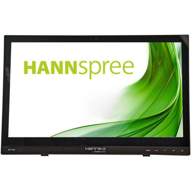 Тъч монитор HANNSPREE HT 161 HNB, TFT, 15.6 inch, Whide, HD Ready, D-Sub, HDMI, 10 Point Touch, Черен