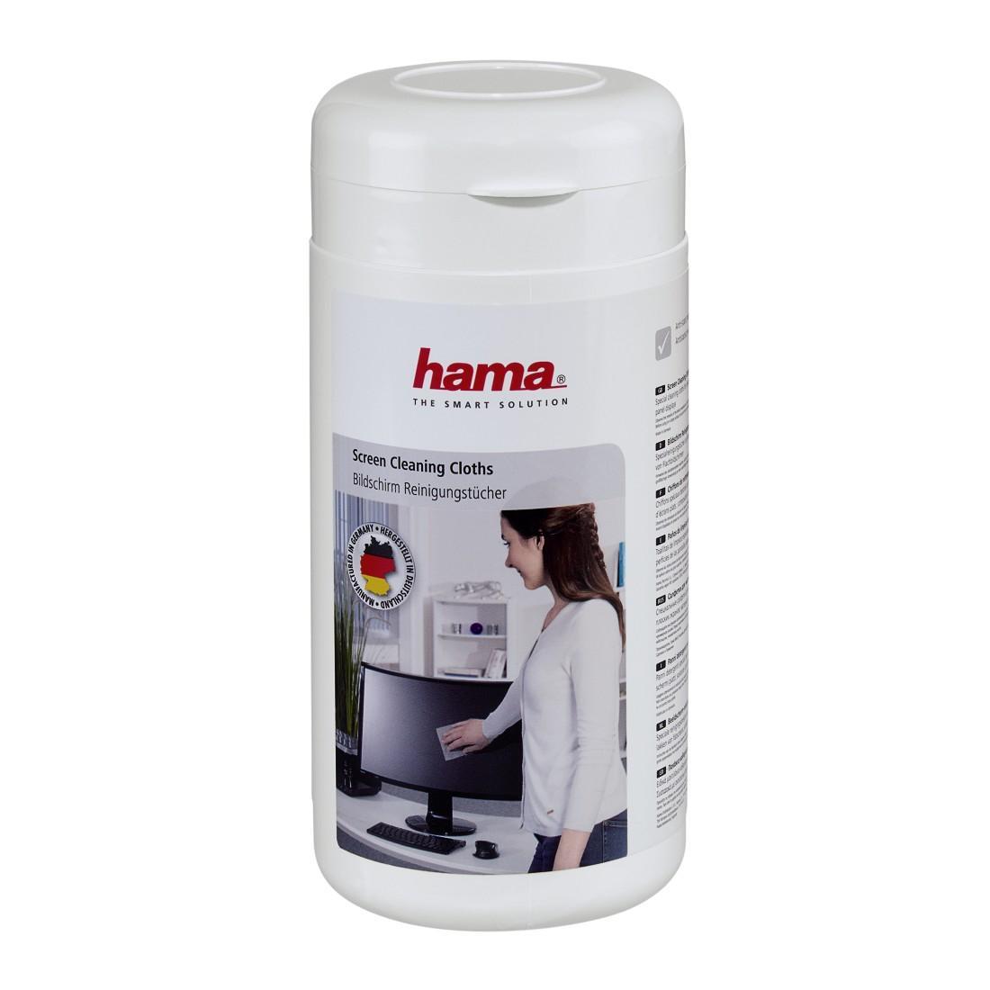 Почистващи кърпички НАМА за екрани за TFT, LED, LCD, TV и телефони