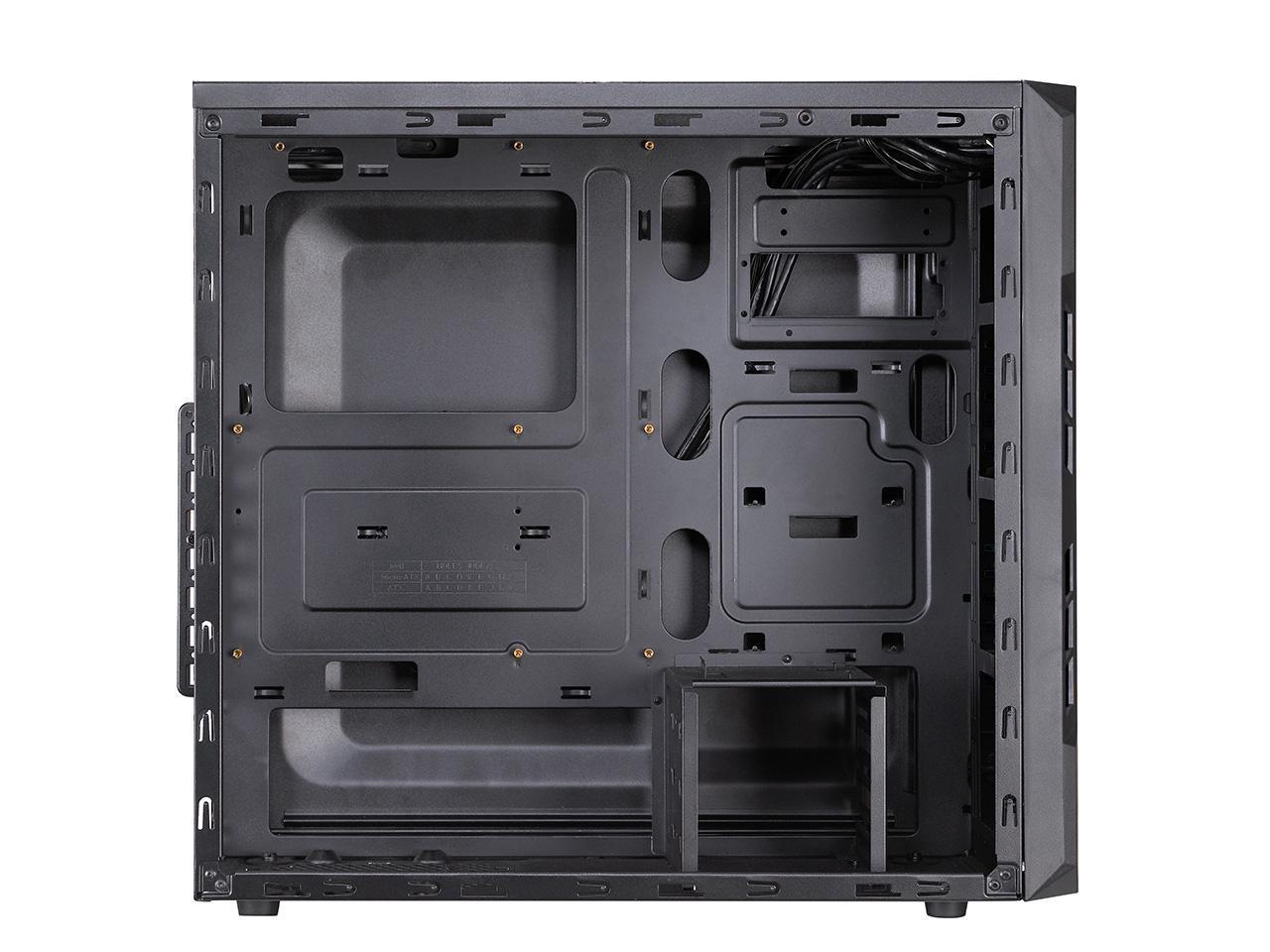 Кутия FSP CMT210 Gaming, Window, ATX, Черен