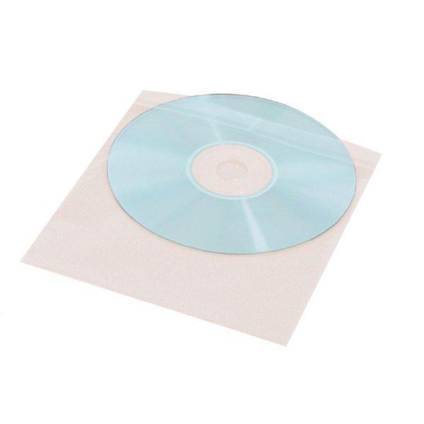 Хартиени пликчета за CD 100 бр. комплект ESTILLO, бял