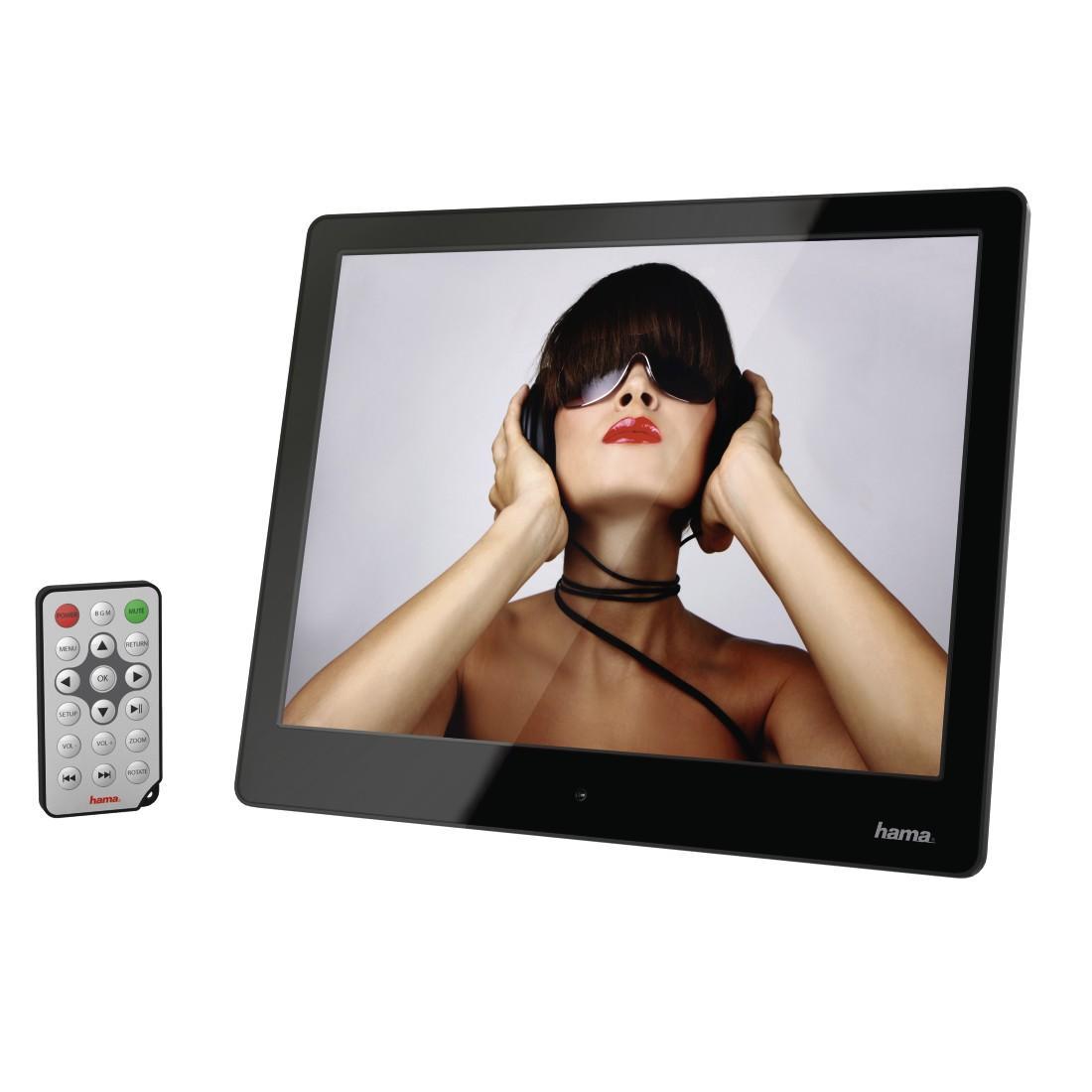 """Цифрова фото рамка HAMA 97SLP, 9.7"""", Slim, HD, USB"""