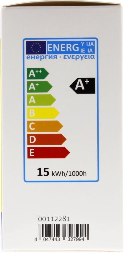 LED крушка XAVAX 112282, 9.5W, E27, 2700K, bulb, 2 бр