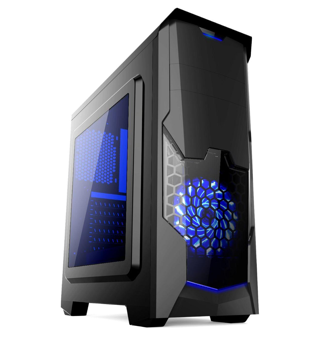 Кутия Estillo 8804 Blue Gaming ATX USB 3.0