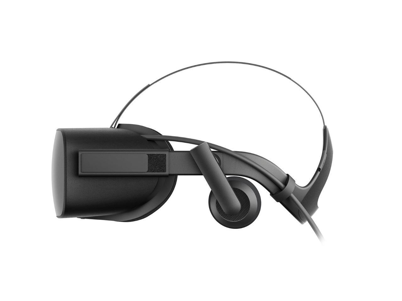 Комплект за виртуална реалност OCULUS Rift + контролери OCULUS Touch, Черен