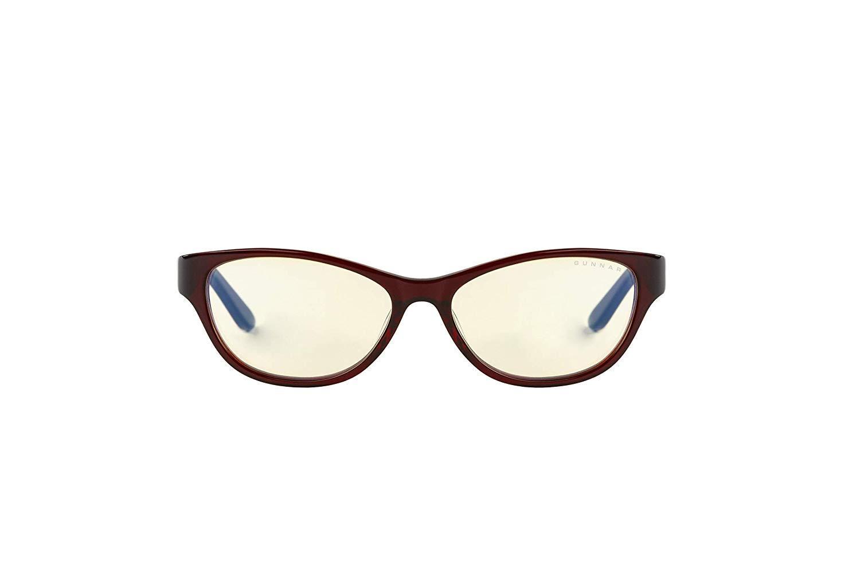 Геймърски очила GUNNAR Jewel Maroon, Amber