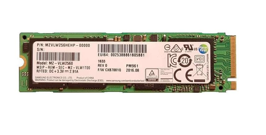 Solid State Drive (SSD) SAMSUNG PM961 NVMe PCIe M.2 Type2280 128GB MZVLW128HEGR-00000