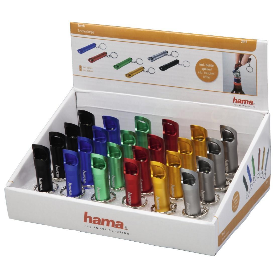 Фенер Hama 2in1, отварачка за бутилки, 24 броя в кутия
