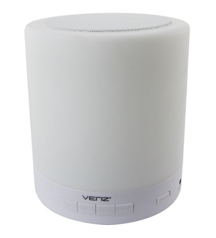 MultiRoom Wi Fi колонка VENZ A5-W, Бял