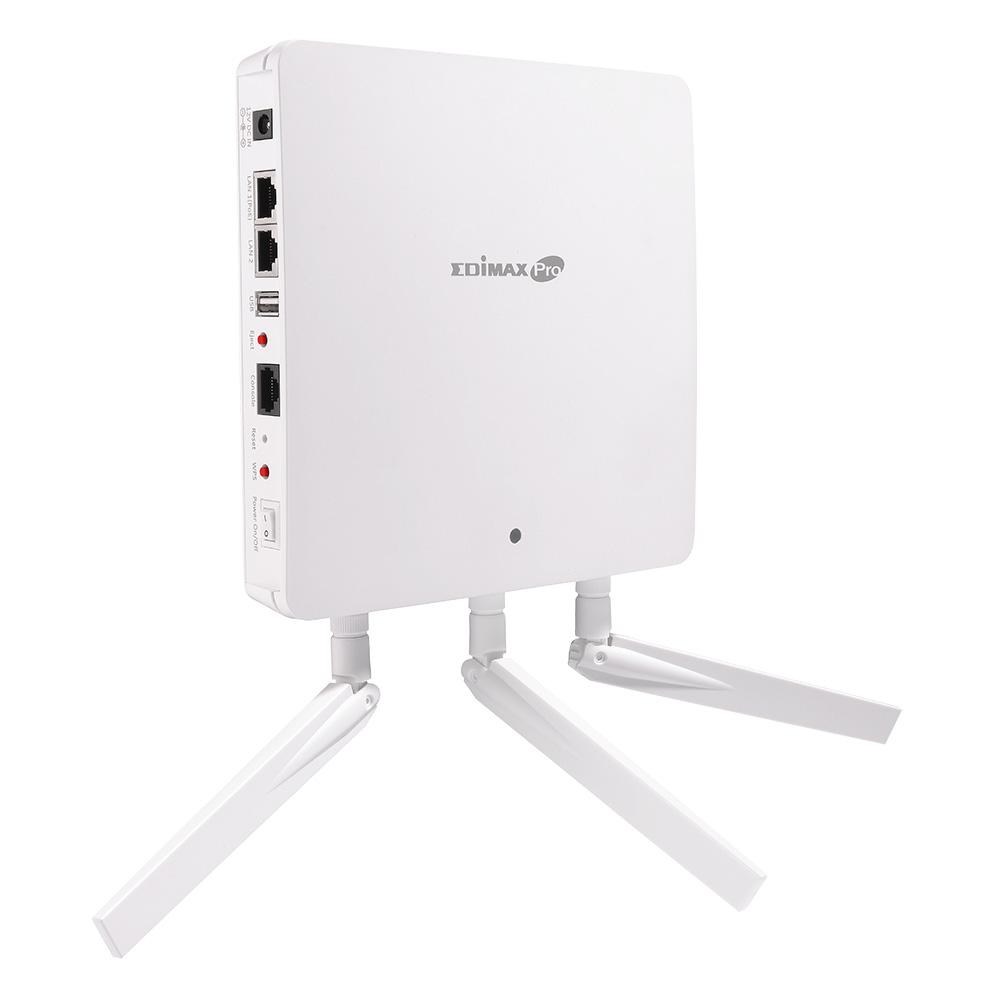 Безжичен Access Point EDIMAX WAP1750, 450Mbps, 2.4GHz, 802.11AC Двубандов