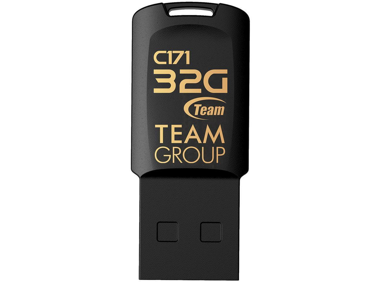 USB памет Team Group C171 32GB USB 2.0, Черен