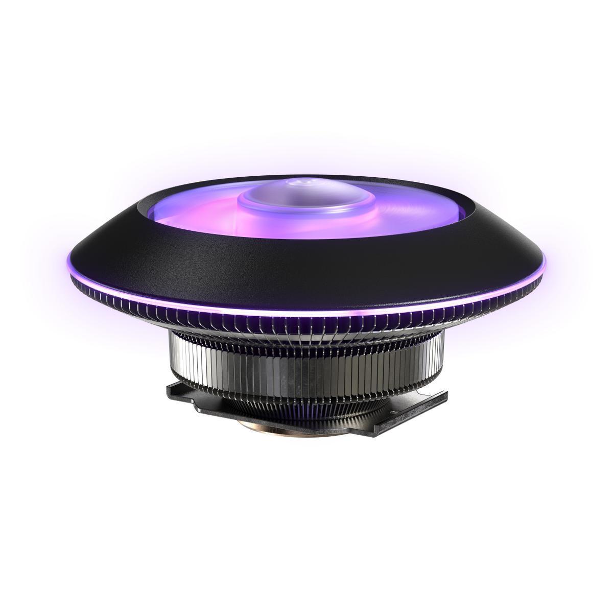 Охладител за процесор Cooler Master MasterAir G100M RGB, AMD/INTEL