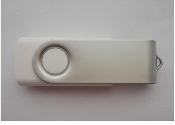 USB памет ESTILLO SD-01, 4GB, Бял