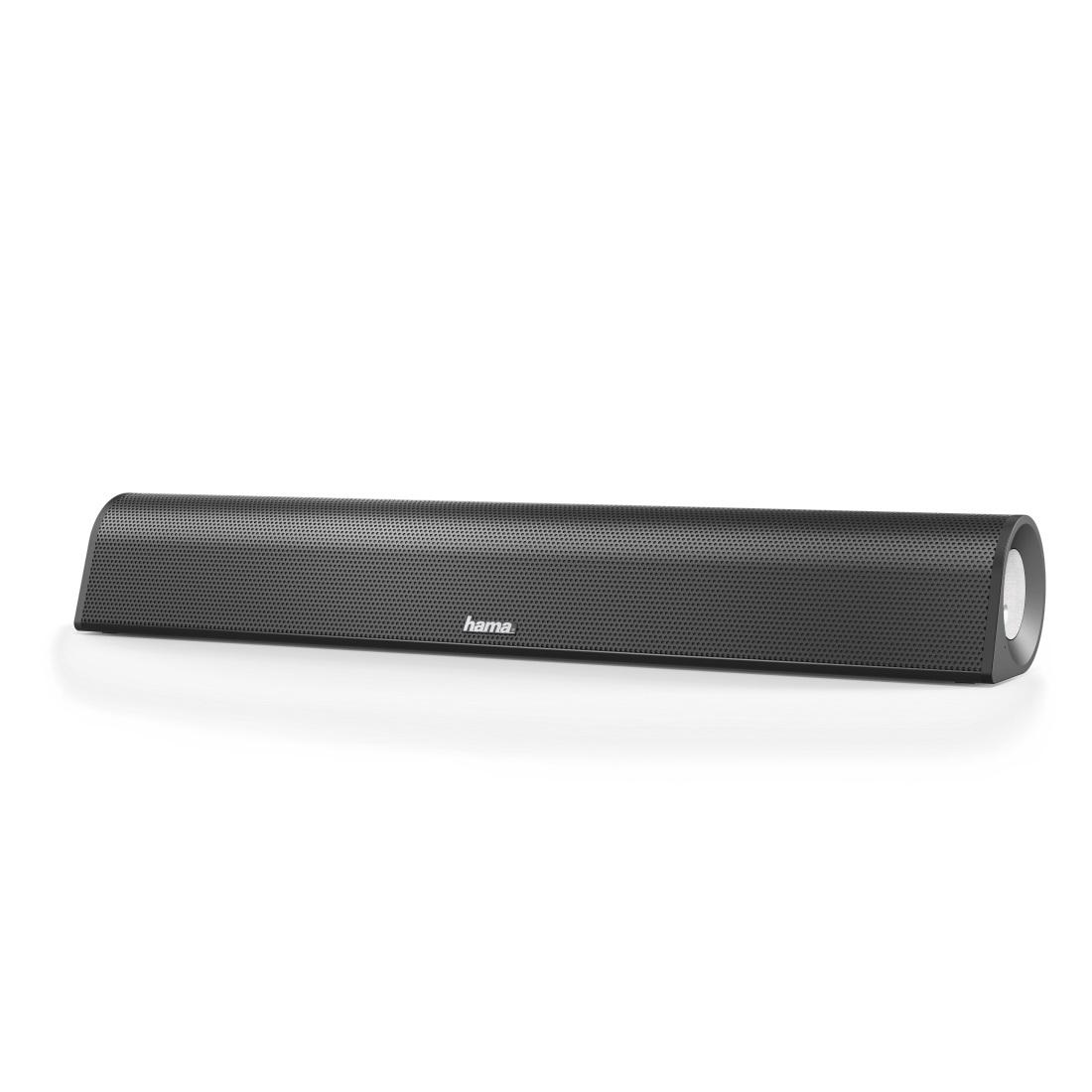Звукова система HAMA Sonic SB-206, PC Soundbar 2.0, Черен