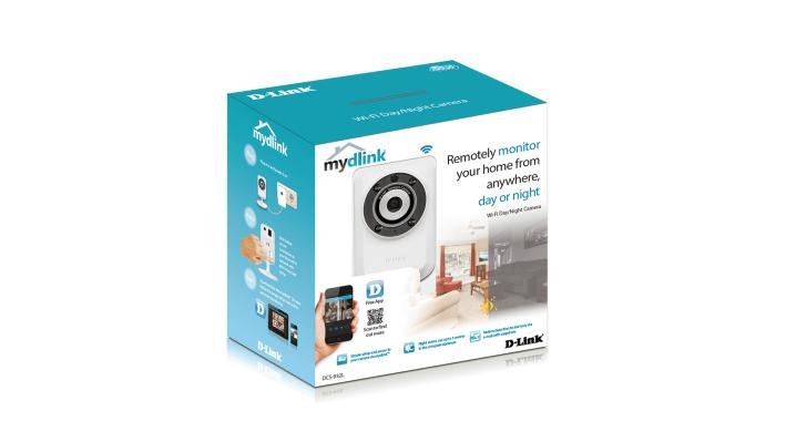 Камера за наблюдение IP D-Link DCS-932L/E, безжична